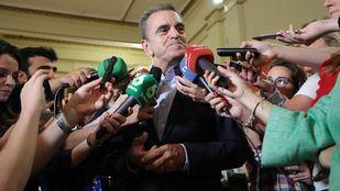 El secretario general del PSOE-M, José Manuel Franco.