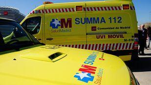 Ambulancia del Summa 112.