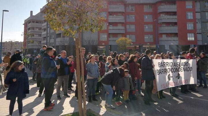 Los vecinos de Vereda de los Estudiantes protestan por las condiciones en las que se encuentra el barrio