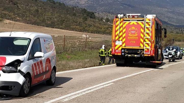 Un choque entre una moto y un coche se salda con un fallecido en Fresnedillas