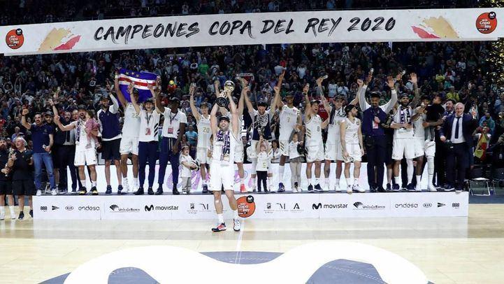 El Real Madrid, ganador de la Copa del Rey de Baloncesto