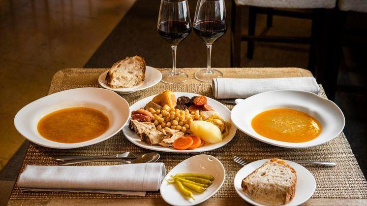 Los menús de mediodía, con el cocido madrileño, llegan al restaurante Sandó