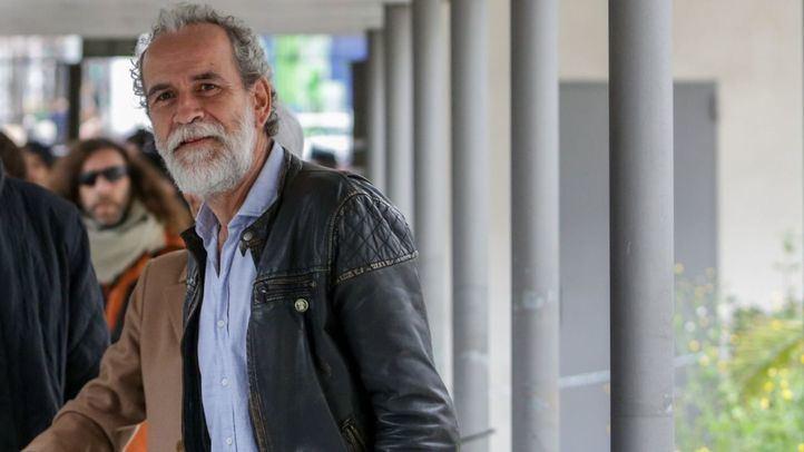 Willy Toledo, a su llegada a los juzgados: