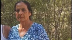 Foto de Consuelo Flores, la mujer de 69 años desaparecida.