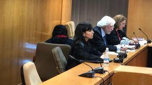 Imagen del juicio contra una acusada de matar a su bebé recién nacido en Madrid.