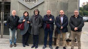 Los comerciantes de Metro piden medidas para continuar en sus locales