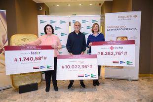 El Corte Inglés entrega 20.045€ a Fundación Aladina, Cruz Roja y Feder gracias al Roscón de Reyes Solidario