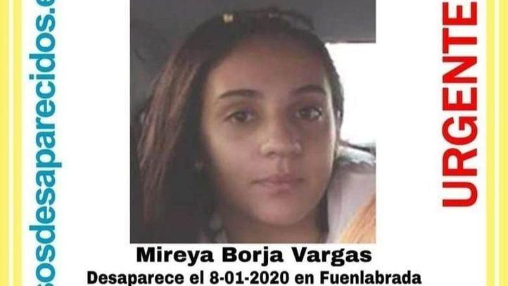 Mireia Borja Vargas, la menor desaparecida.