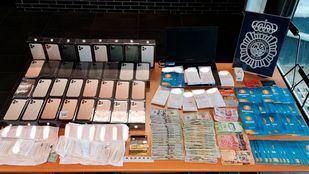 El individuo fue detenido como presunto responsable de un delito de estafa.