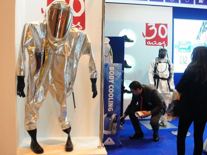 Ifema SICUR, trajes seguridad quimica