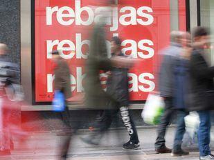Los madrileños gastaron un 33% menos en las rebajas