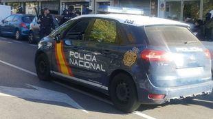 Coche de la Policía Nacional, en una foto de archivo