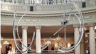 Arte bajo la cúpula del Palace que invita a viajar en el tiempo