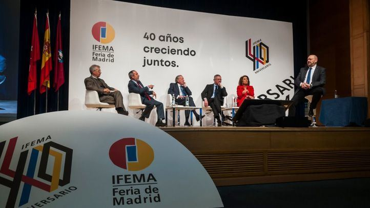 Jornadas del 40 aniversario de IFEMA.
