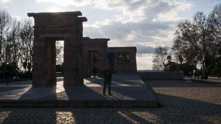 Madrid convocará un concurso de ideas para cubrir el Templo de Debod