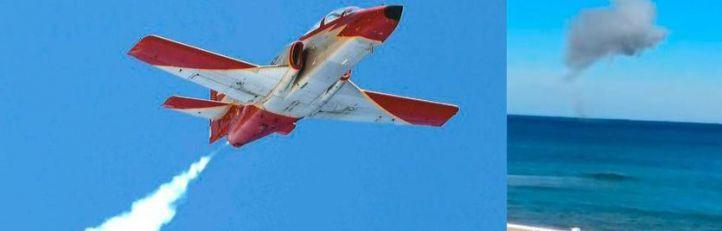 Muere un piloto de la Patrulla Águila tras estrellarse en Murcia