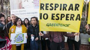 Vecinos de Retiro y Greenpeace protestan por la contaminación
