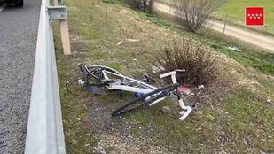 El ciclista ha sido trasladado grave al Hospital 12 de Octubre
