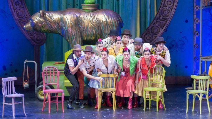 'Agua, azucarillos y aguardiente, obra' en el Teatro de la Zarzuela