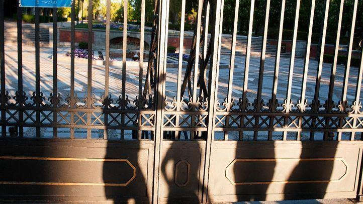 Cerrados El Retiro y otros ocho parques este lunes por el fuerte viento