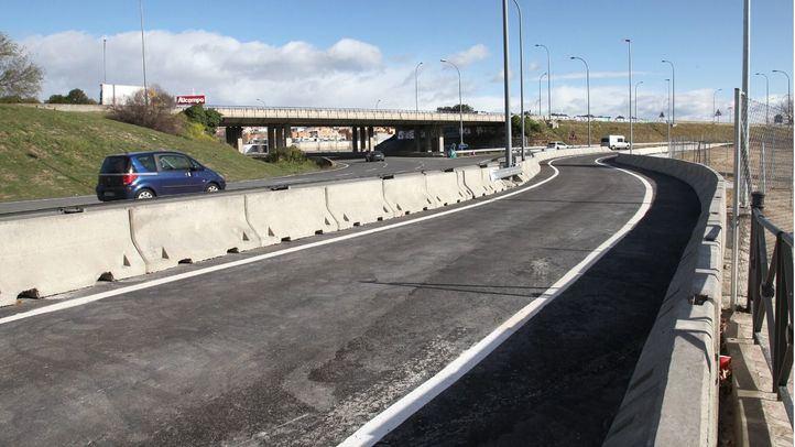 Alcobendas estrena un nuevo acceso a la A-1 para descongestionar la zona