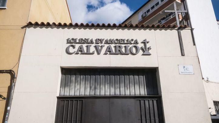 Una de las iglesias evangélicas de Torrejón de Ardoz.