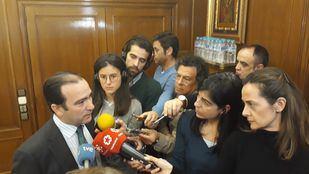 Borja Carabante, en su comparecencia ante la prensa