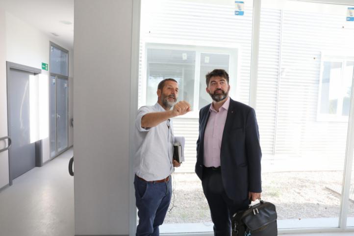 Carlos Sánchez Mato visita las instalaciones
