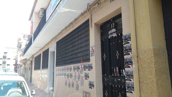 Boicotean la sede del PSOE en Getafe contra la exhumación de Franco