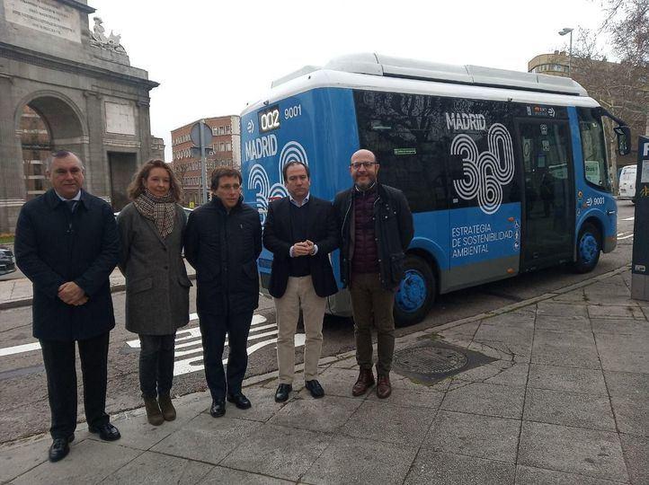Arranca la segunda línea cero emisiones, que unirá Argüelles y Puerta de Toledo