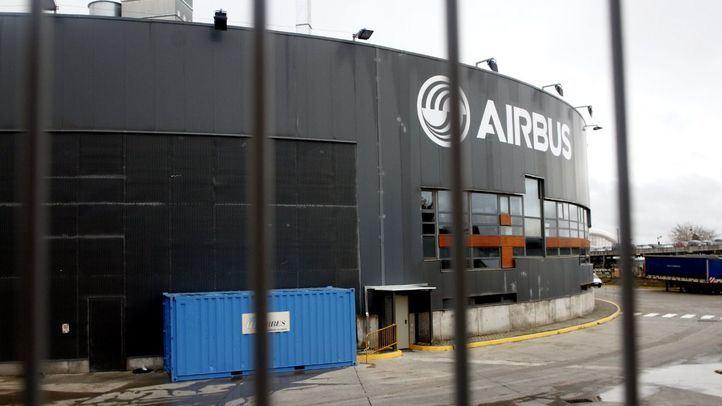 Los despidos de Airbus afectarán a 370 empleados madrileños