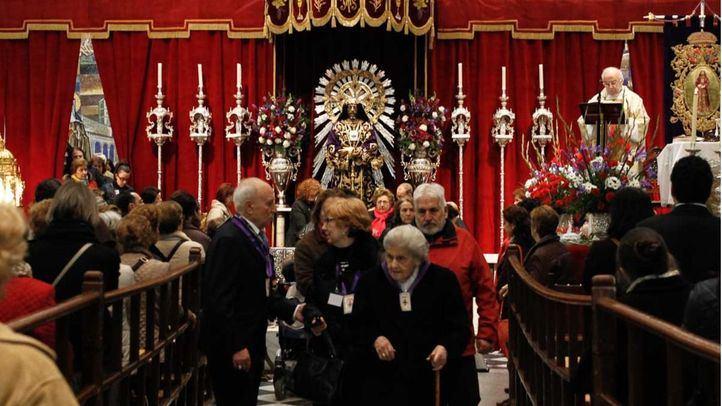 El Arzobispado pide no besar la talla del Cristo de Medinaceli para prevenir contagios