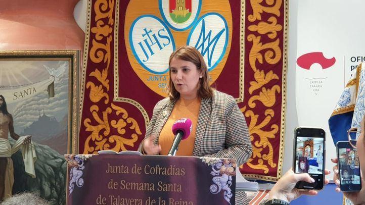 La alcaldesa de Talavera de la Reina, Tita García.