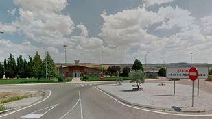 Entrada a la cárcel de Aranjuez