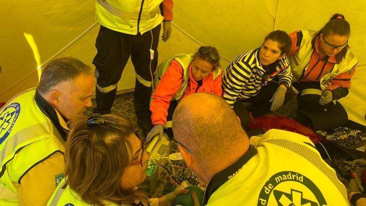 Los sanitarios de Samur-Protección Civil han conseguido revertir la parada