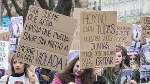 Las mujeres toman Madrid 'con derechos, sin barreras y sin fronteras'
