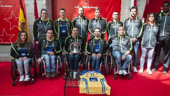 La Comunidad recibe al CD Ilunion, campeón de la Copa del Rey de Baloncesto en Silla de Ruedas