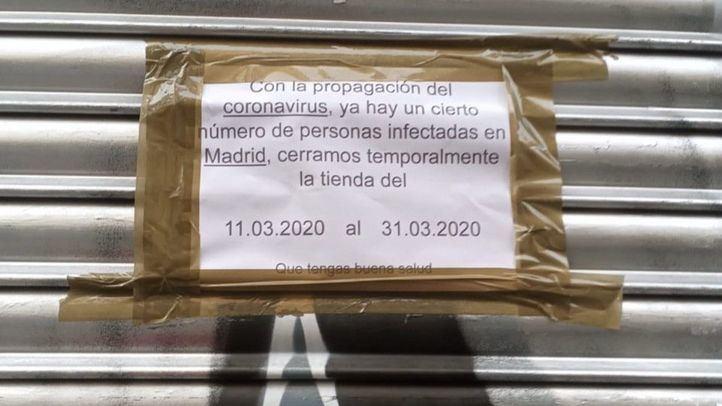 Los chinos en Madrid inician cuarentena voluntaria