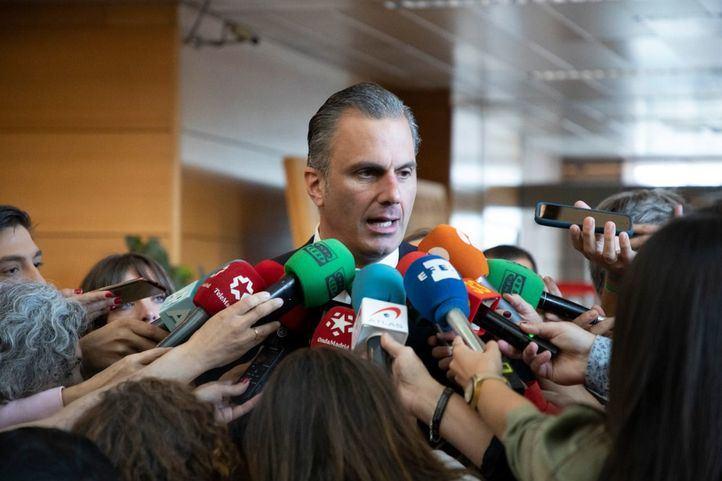 Javier Ortega Smith da positivo en coronavirus y Vox culpa al Gobierno de 'irresponsable'