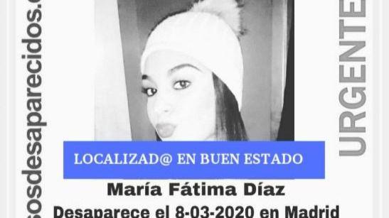Localizada en buen estado una de las menores desaparecidas tras fugarse de casa