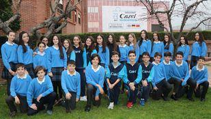 Los alumnos del Eurocolegio Casvi mantienen su centro libre de bullying