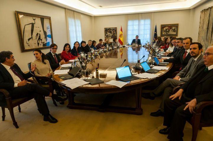 Consejo de Ministros extraordinario para afrontar la crisis del coronavirus