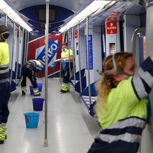 Se ejecutan medidas extraordinarias de limpieza en Metro pero los usuarios caen