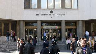 Acceso público restringido a las sedes judiciales de la capital