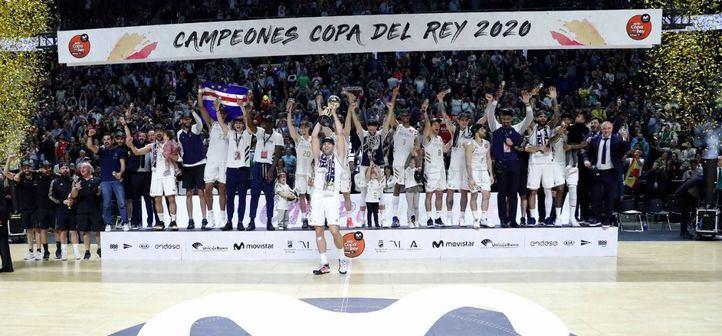 Real Madrid, ganador de la Copa del Rey de Baloncesto