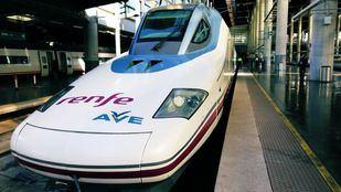 Línea del AVE Madrid-Granada.