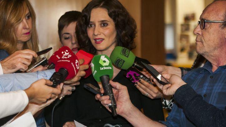 Ayuso carga contra TVE por 'ataques' contra la Sanidad madrileña