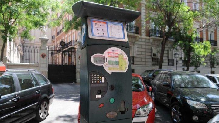 Parquímetro en Madrid