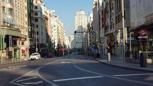 Así es el Madrid del estado de alarma