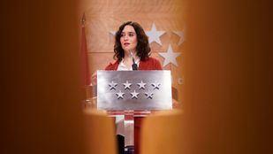 Isabel Díaz Ayuso, presidenta de Madrid